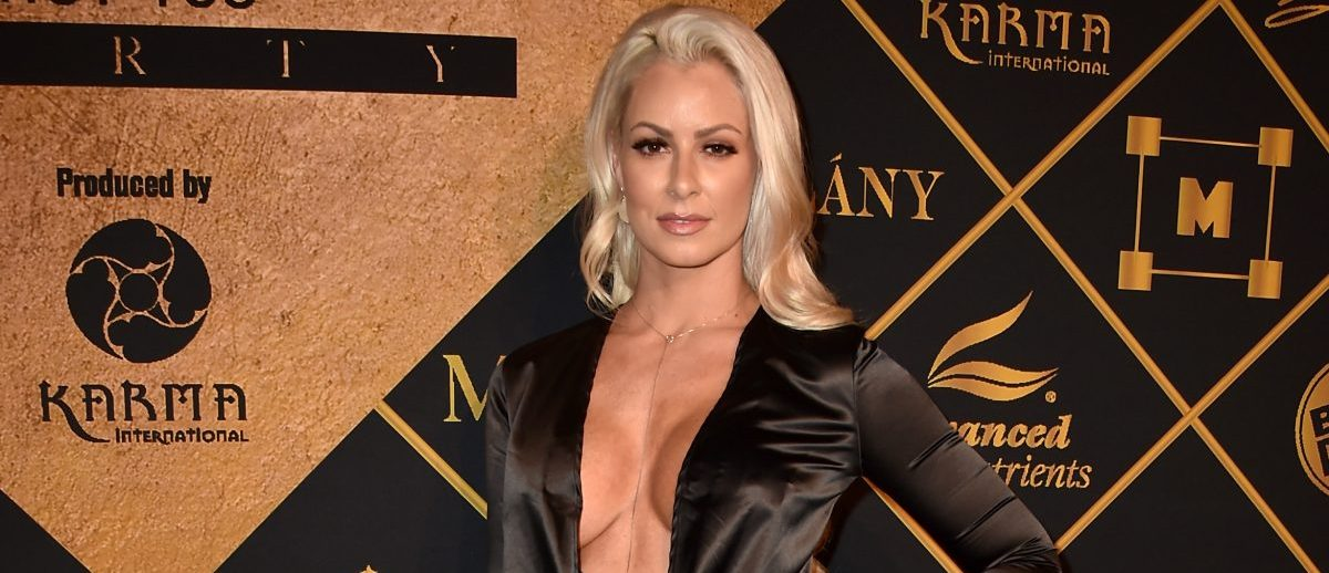 Model Maryse Ouellet attends the Maxim Hot 100 Party at the Hollywood Palladium on July 30, 2016 in Los Angeles. (Photo by Alberto E. Rodriguez/Getty Images)