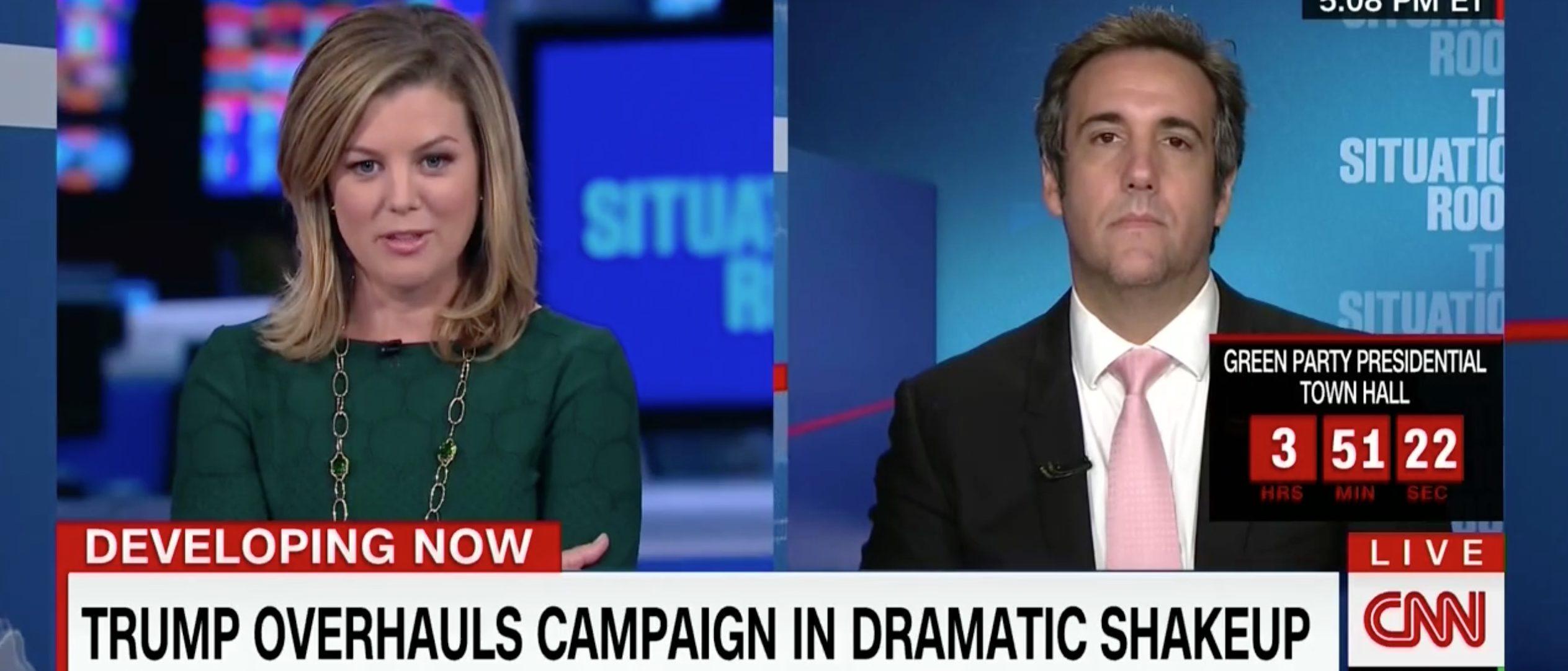 Michael Cohen, Screen Grab CNN, 8-17-2016