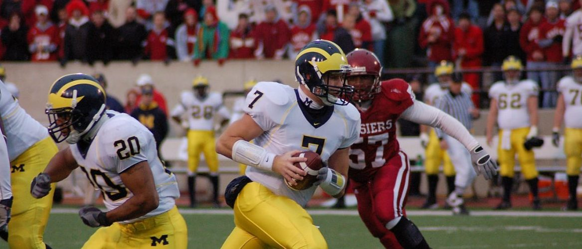 Michigan Football: john j. klaiber jr/shutterstock.com