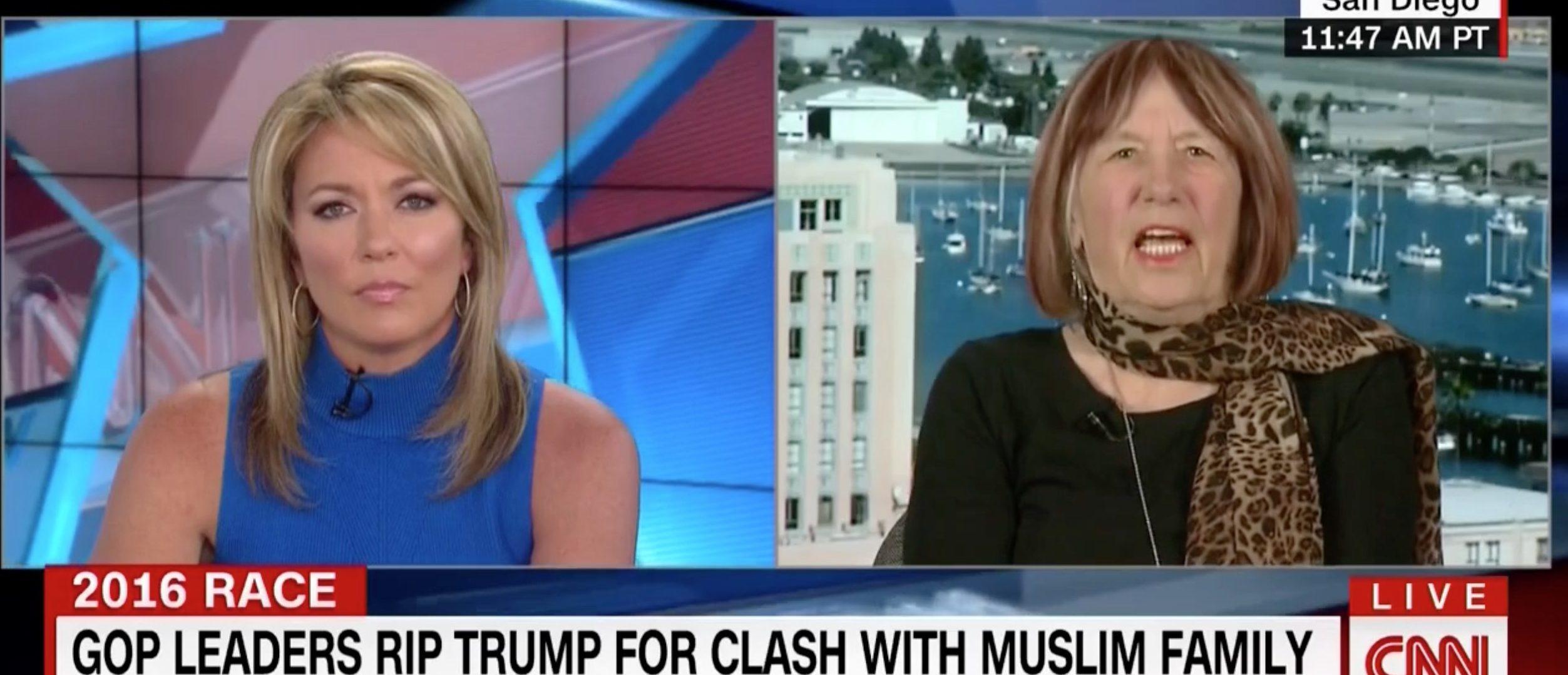 Patricia Smith, Screen Grab CNN, 8-1-2016