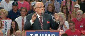 Rudy Giuliani, Screen Grab Right Side Broadcasting YouTube, 8-9-2016
