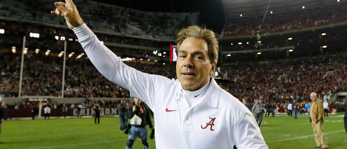 Nick Saban (Credit: Getty Images/Kevin C. Cox)