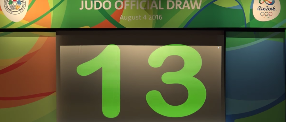 2016 Olympic Judo (You Tube Video Screen Capture/ Judo)