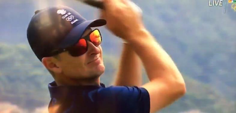 British Golfer Justin Rose (NBC Video Screen Shot)