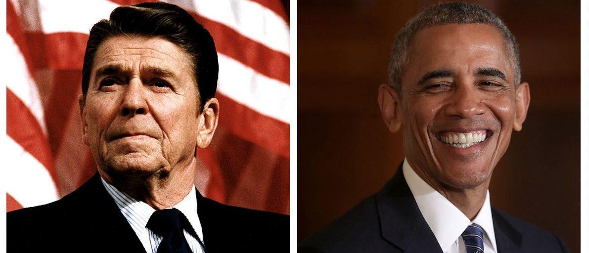 Ronald Reagan, Barack Obama (Getty Images)