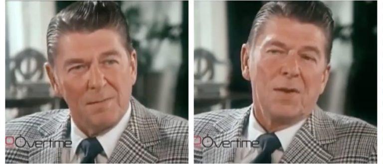 Ronald Reagan (CBS via Facebook)