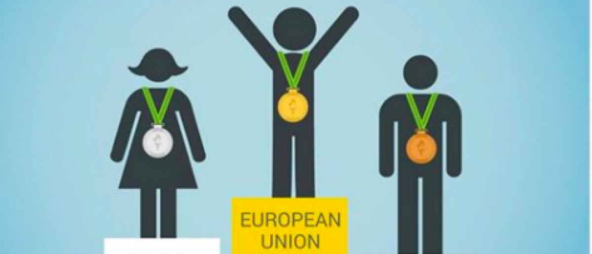 The European Parliament declared itself Olympic medal champions with a Facebook post. (screenshot from Facebook)