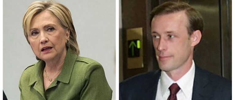 Hillary Clinton, Jake Sullivan (Getty Images)