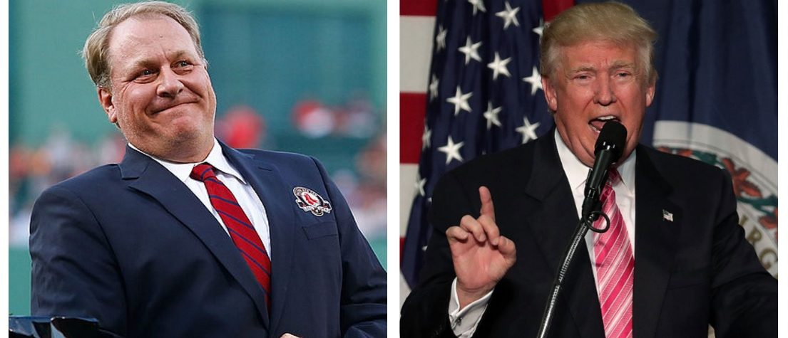 Curt Schilling, Donald Trump (Getty Images)
