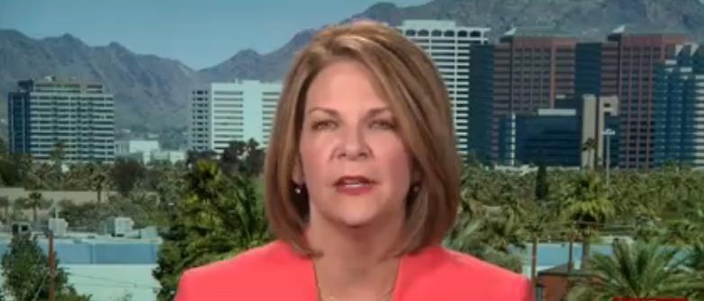 Kelli Ward discusses John McCain on MSNBC. Aug. 25, 2016. (Youtube screen grab)
