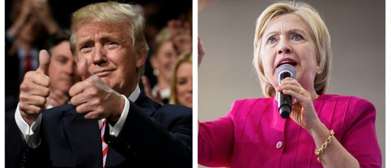 Donald Trump, Hillary Clinton (Getty Images)