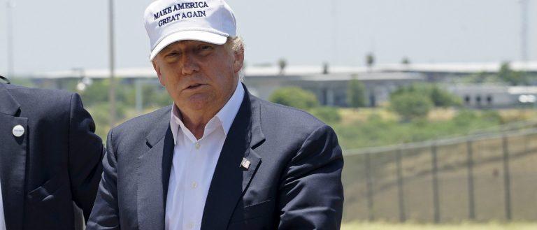 Trump border Reuters/Rick Wilking