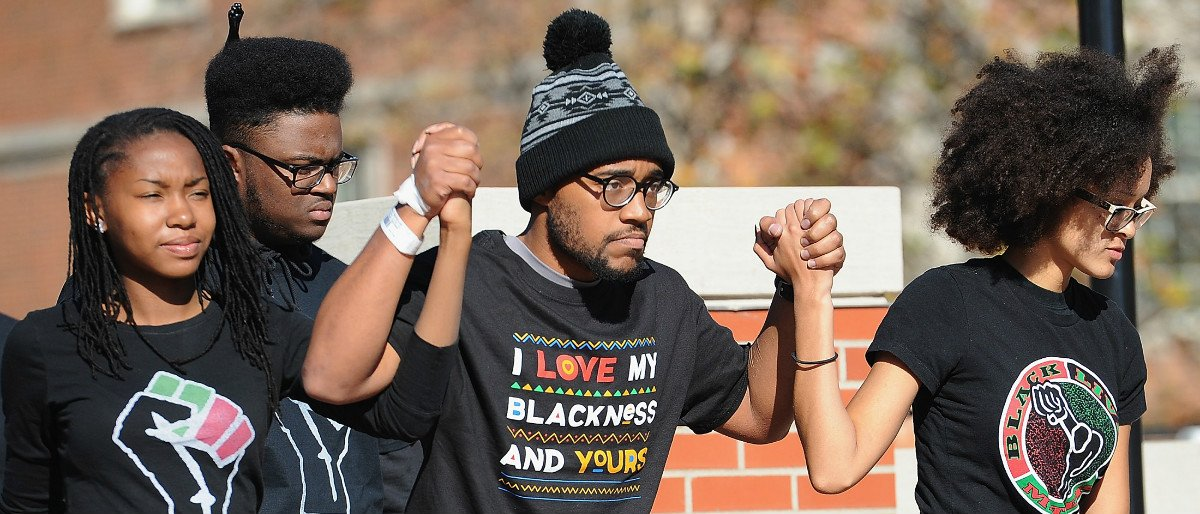 University of Missouri Black Lives Matter protest 2 Getty Images / Michael B. Thomas