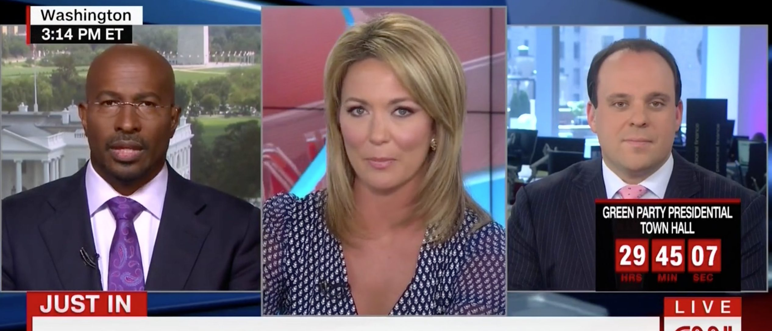 Van Jones, Brooke Baldwin, Screen Grab CNN, 8-16-2016