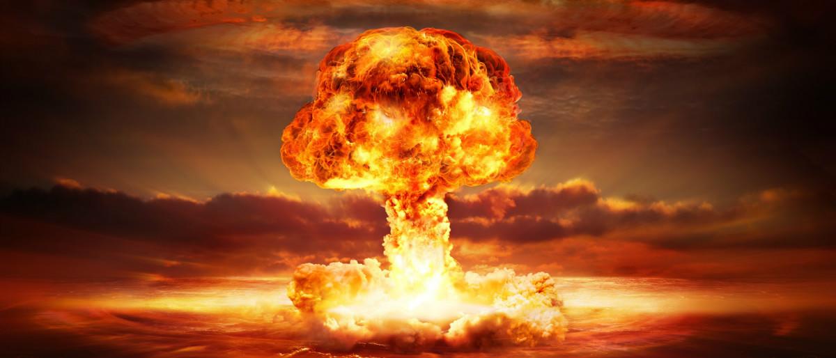 Atomic bomb explosion Shutterstock/Romolo Tavani