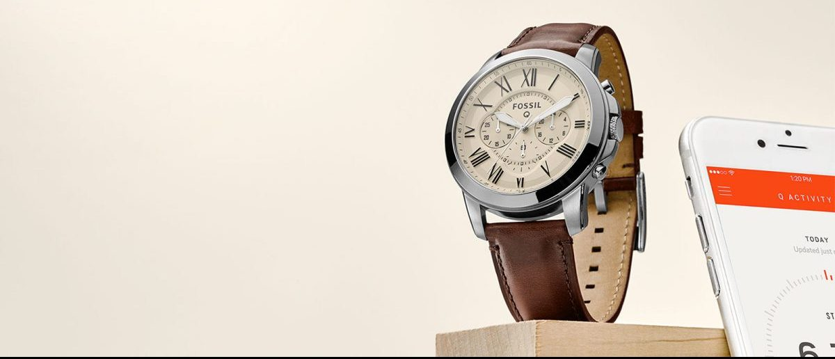 This is a Fossil smartwatch (Photo via Fossil)