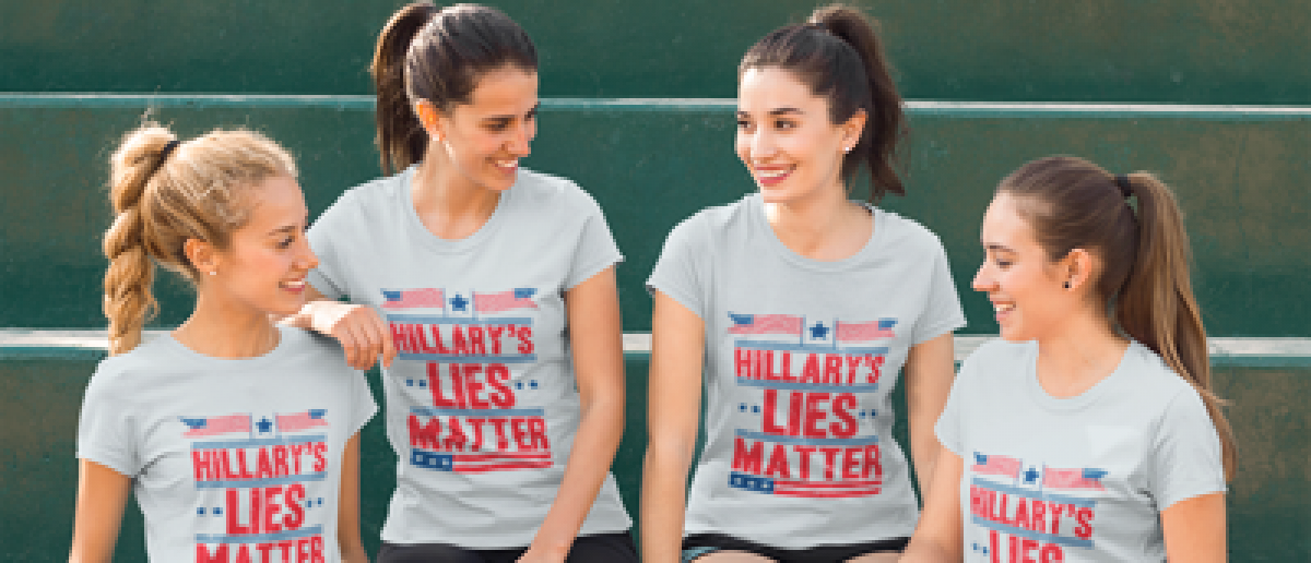 You can assist in the fight against the liberal monopoly on media by getting one of these shirts (Placeit)