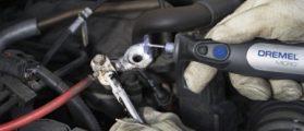 One application for the rotary tool kit (Photo via Amazon)