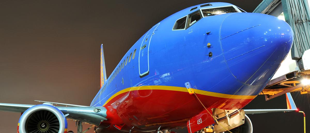 Southwest Airlines (Credit: Carlos E. Santa Maria/Shutterstock)