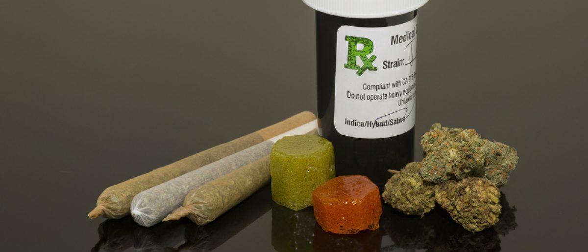 Medical marijuana Shutterstock/ Thomas Morris