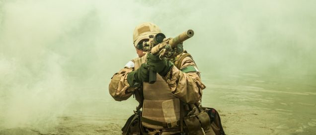 Navy SEAL (Credit: Shutterstock)