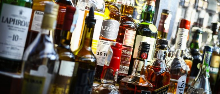 Hard alcohol. [Shutterstock/Alexandru Nika]