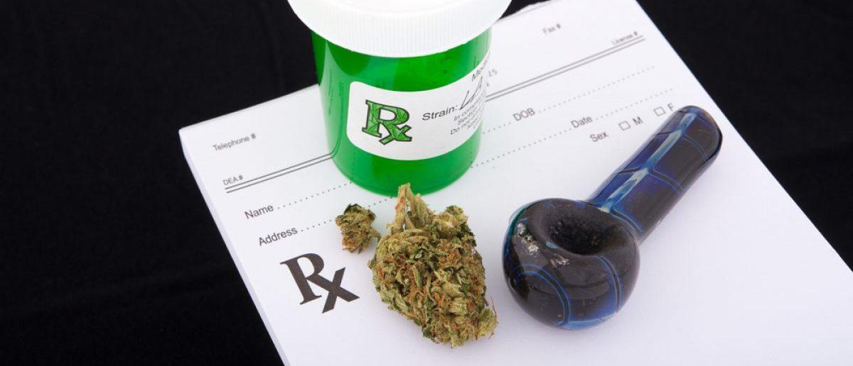 Pot, a bowl and a prescription pad.