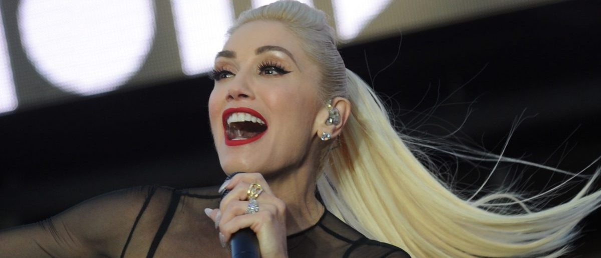 Gwen Stefani performs at Samsung's celebration of A Galaxy of Possibility and unveiling of Gear Fit2 at Samsung 837 on June 2, 2016 in New York City