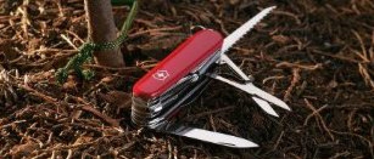 Swiss Army knives are on sale (Photo via Amazon)