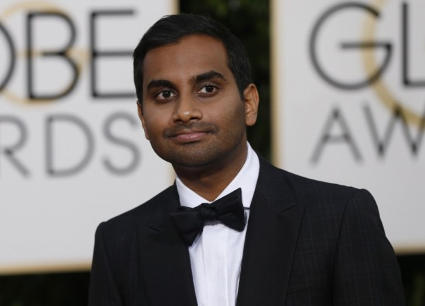 Actor Aziz Ansari arrives at the 73rd Golden Globe Awards in Beverly Hills, California, U.S. on January 10, 2016. REUTERS/Mario Anzuoni/File Photo