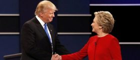 Donald Trump And Hillary Clinton Spar — And Get Personal — In First Presidential Debate