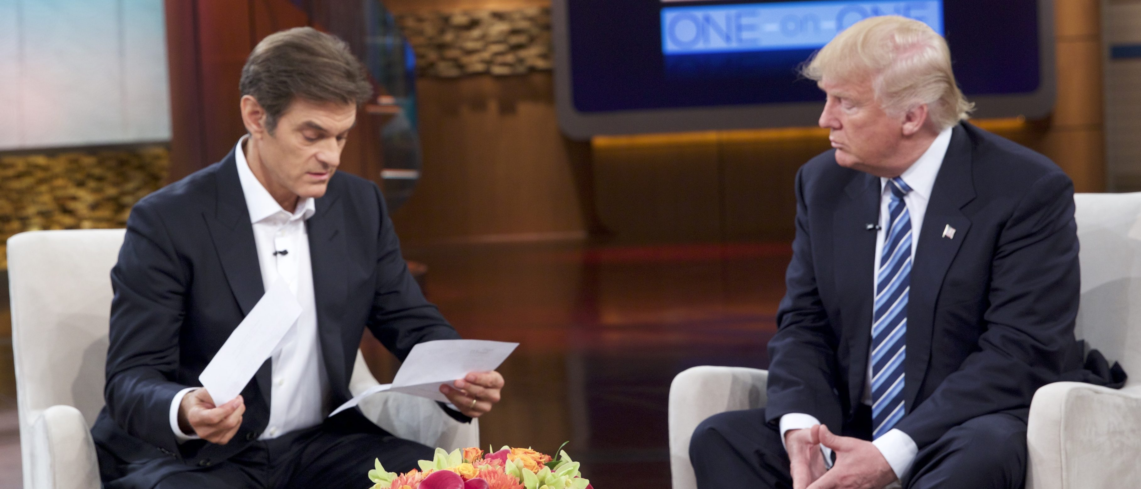 Donald Trump and Dr. Oz