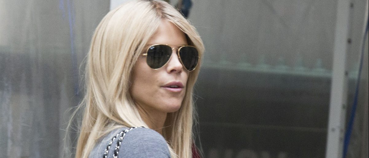 Elin Nordegren exits the New York Stock Exchange in New York's financial district June 19, 2014