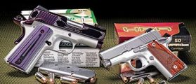 Gun Tests: Kimber's Amethyst Ultra II .45 ACP And .380 Micro Carry