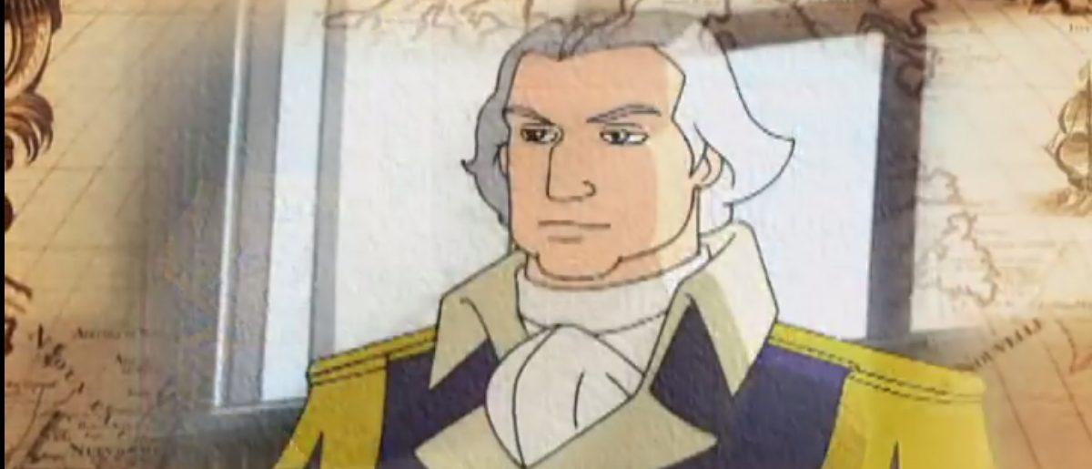 George Washington (Screenshot: Liberty's Kids/YouTube)