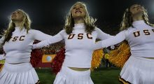 USC is always in the conversation, no matter how bad their football team is. (Photo by Stephen Dunn/Getty Images)
