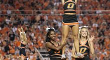 Oklahoma State starts off the 2016-17 season at #21. (Photo by Brett Deering/Getty Images)