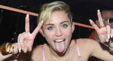 Miley Cyrus. (Photo: Jamie McCarthy/Getty Images for The General)