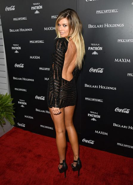 Samantha Hoopes looking like she belongs at the Maxim Hot 100 party. (Photo by Jason Merritt/Getty Images for MAXIM)