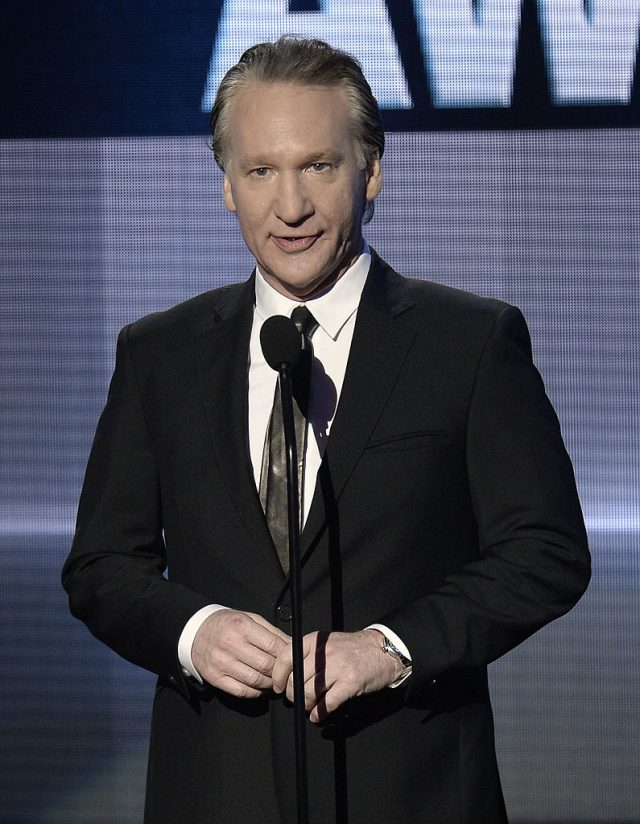 TV personality Bill Maher speaks onstage during the 2013 American Music Awards at Nokia Theatre L.A. Live on November 24, 2013 in Los Angeles