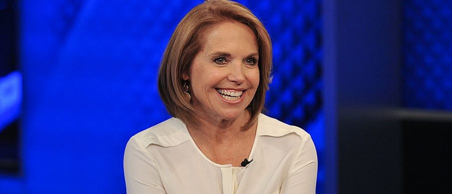 "Katie Couric visits ""The O'Reilly Factor"" at FOX Studios on May 13, 2014 in New York City. (Photo by D Dipasupil/Getty Images)"
