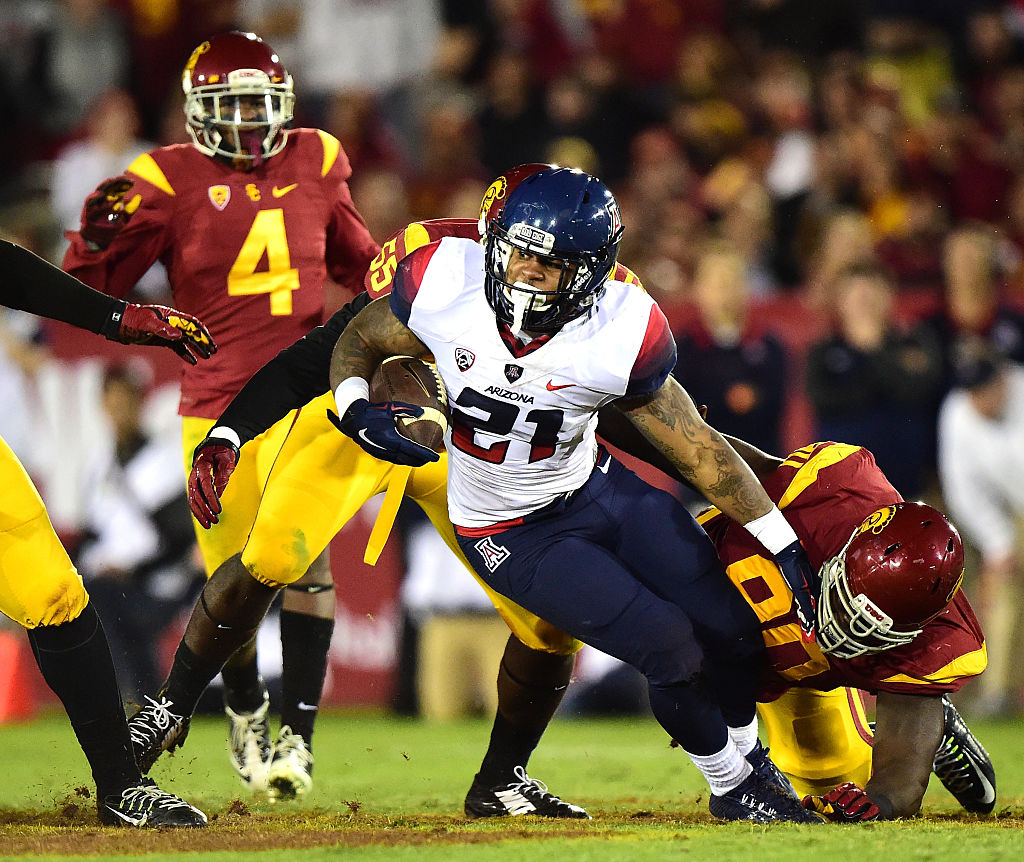 Arizona Wildcats RB Orlando Bradford booted after assault, kidnapping arrest