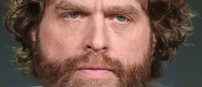 Zach Galifianakis at the FX portion of the 2015 Winter TCA Tour at the Langham Huntington Hotel on January 16, 2016 in Pasadena, California