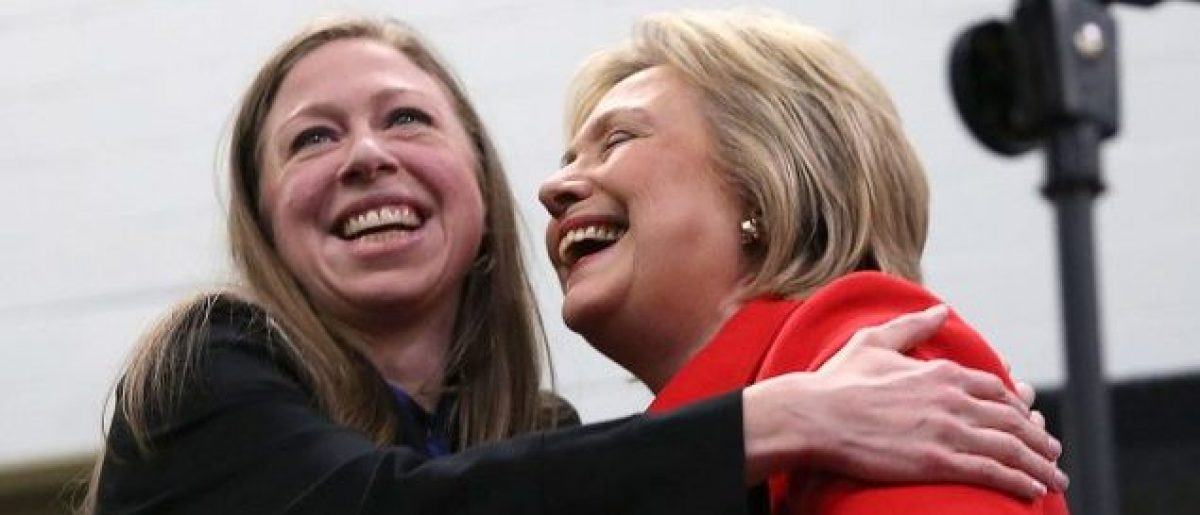 Chelsea Clinton and Hillary Clinton (Photo: Justin Sullivan/Getty Images)