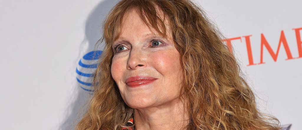 Mia Farrow attends 2016 Time 100 Gala, Time's Most Influential People In The World at Jazz At Lincoln Center at the Times Warner Center on April 26, 2016 in New York City