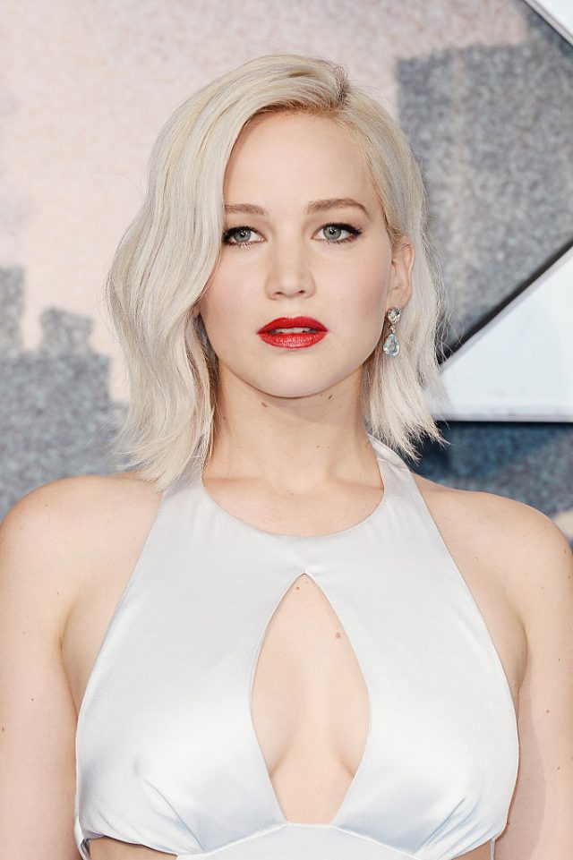 Jennifer Lawrence was one of the celebrity victims in the hack. (Photo by Jeff Spicer/Getty Images)