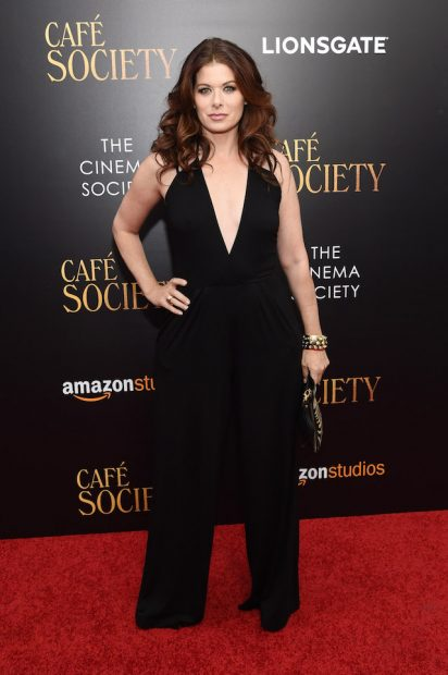 "NEW YORK, NY - JULY 13: Debra Messing attends the premiere of ""Cafe Society"" hosted by Amazon & Lionsgate with The Cinema Society at Paris Theatre on July 13, 2016 in New York City. (Photo by Jamie McCarthy/Getty Images)"