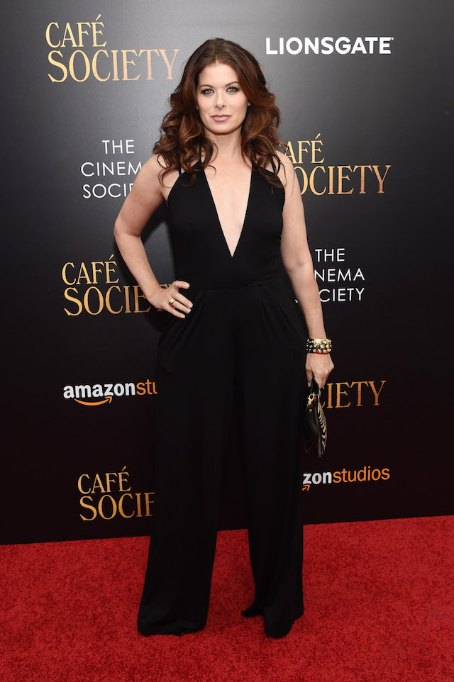 """NEW YORK, NY - JULY 13: Debra Messing attends the premiere of """"Cafe Society"""" hosted by Amazon & Lionsgate with The Cinema Society at Paris Theatre on July 13, 2016 in New York City. (Photo by Jamie McCarthy/Getty Images)"""