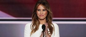 Everyone Is Talking About The Dress Melania Trump Wore To The Presidential Debate Tonight