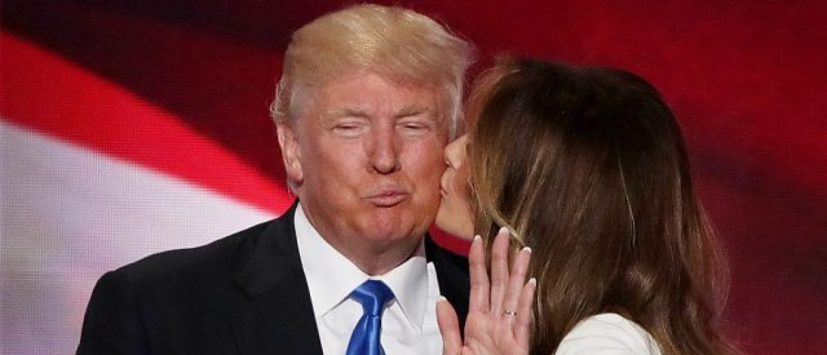 Donald Trump and Melania Trump (Photo: Alex Wong/Getty Images)